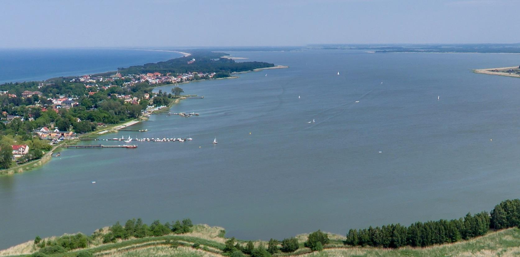 Jezioro Jamno w Mielnie