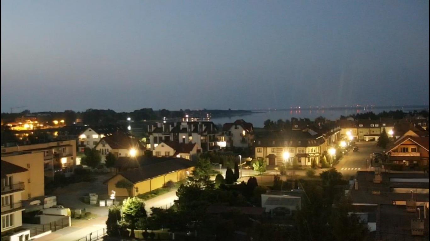 Widok na jezioro Jamno - Willa Christina Spa Mielno