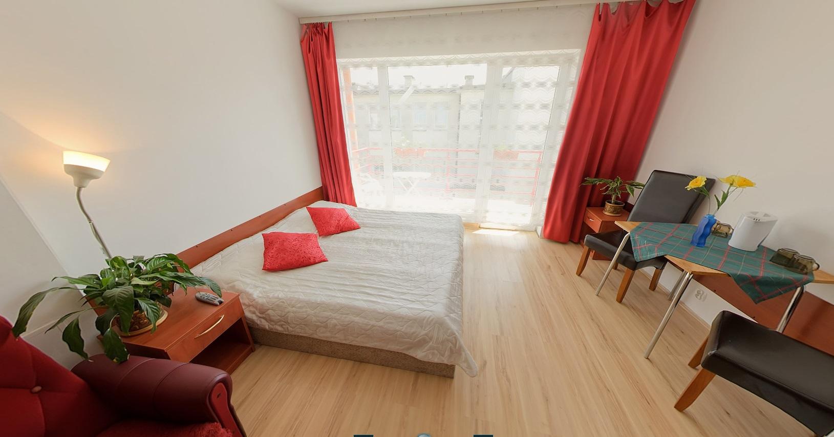 Pokoje w pensjonacie Willa Christina Mielno