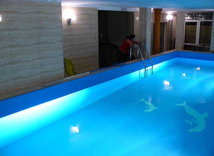 Bezpłatny basen w pensjonacie Willa Christina Spa w Mielnie